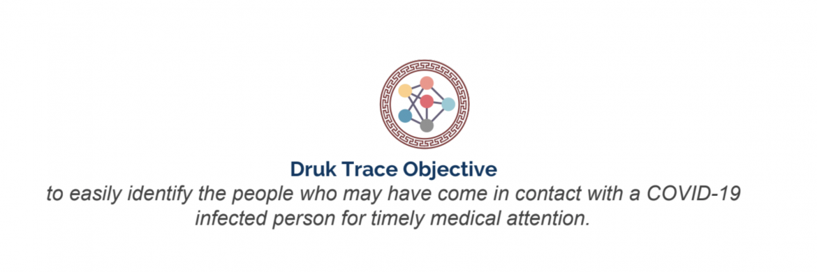 Use the Druk Trace App